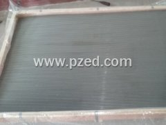 wedge wire flat screen